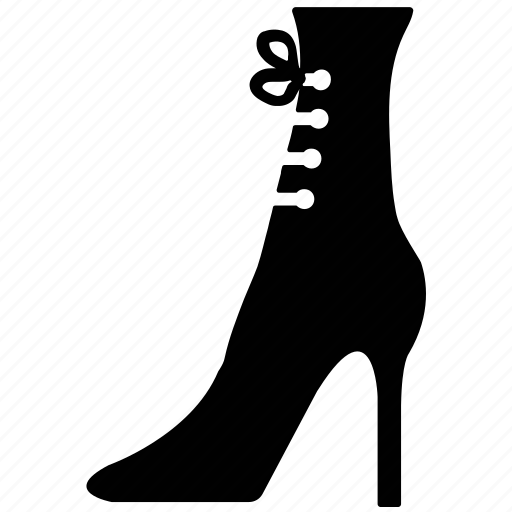 fashion shoe, footwear, ladies shoe, woman shoe icon