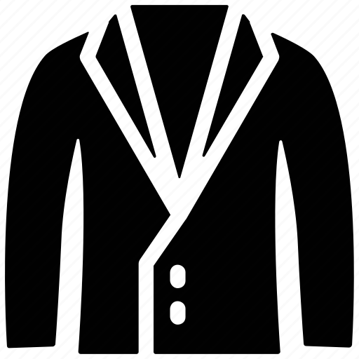 clothes, coat, dress coat, formal, suit coat icon