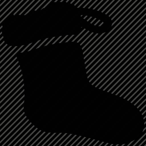 sock, stocking, winter, winter wear icon