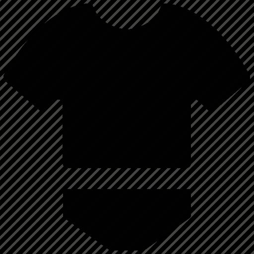 baby wear, clothing, knicker, tea shirt icon