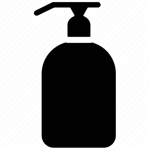 hand soap, liquid soap, soap, soap dispenser icon
