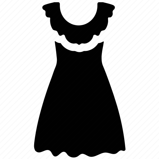 Clothing, frock, party dress, women's icon