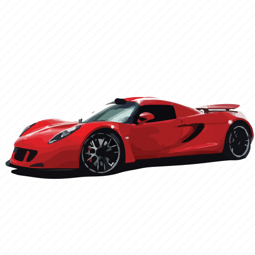 car, cars, gt, hennessey, red, venom icon