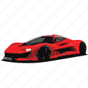 car, cars, f1, mclaren, red icon