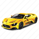 awesome, car, cars, st1, yellow, zenvo icon