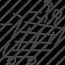 basket, shopping, online, cart