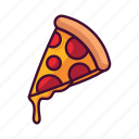 fast food, food, meal, pizza, restaurant icon