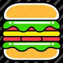 burger, fast, food, french, hamburger, junk, meal