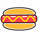 fast, fast food, food, french, hot dog, junk, meal