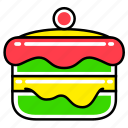 cake, fast, fast food, food, french, junk, meal