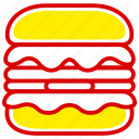 burger, fast, fast food, food, hamburger, junk, meal