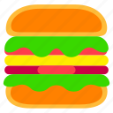 burger, fast, fast food, food, hamburger, junkfood, meal