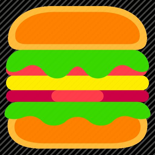 Burger, fast, fast food, food, hamburger, junkfood, meal icon - Download on Iconfinder