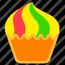 cupcake, dessert, fast, fast food, food, junkfood, meal