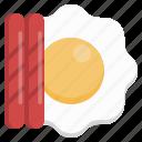 egg, sausage, fast, food, delivery, junk, restaurants