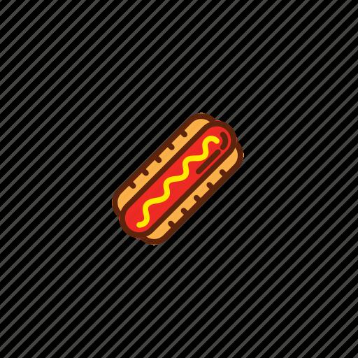 dog, fast, food, hot, hotdog icon