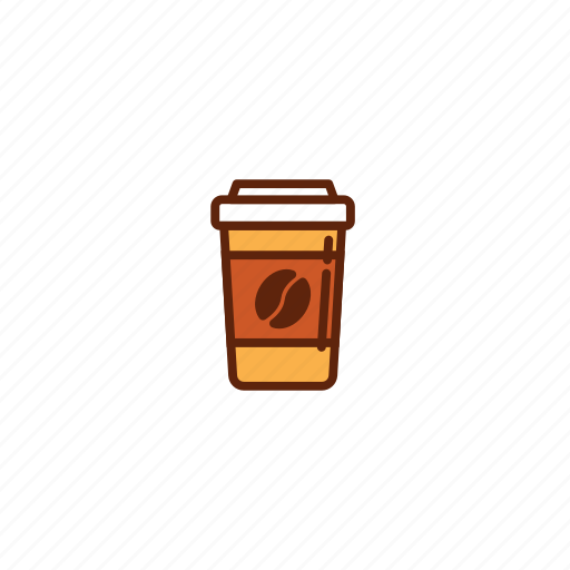 coffee, cup, drink, fast, food icon