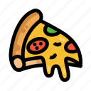 fast, food, menu, pizza, restaurant icon