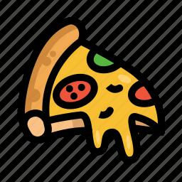 fast, food, menu, pizza, restaurant icon