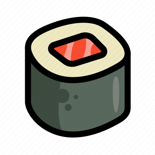 fast, food, menu, restaurant, sea food, sushi icon