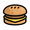 burger, fast, food, menu, restaurant