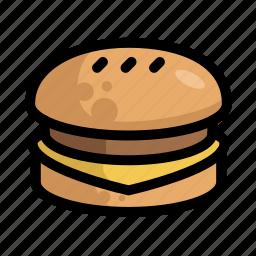 burger, fast, food, menu, restaurant icon