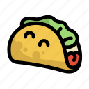 fast, food, menu, restaurant, tacos icon