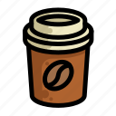 coffee, fast, food, menu, restaurant icon