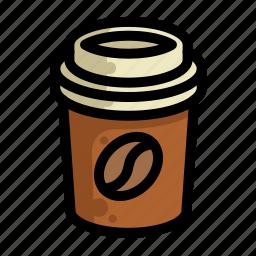 coffee, fast, food, menu, restaurant icon