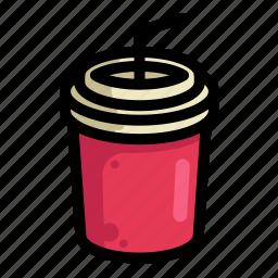 drink, fast, food, menu, restaurant, soda icon