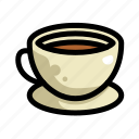 coffee, cup, fast, food, menu, restaurant, tea icon