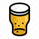 beer, fast, food, menu, restaurant icon