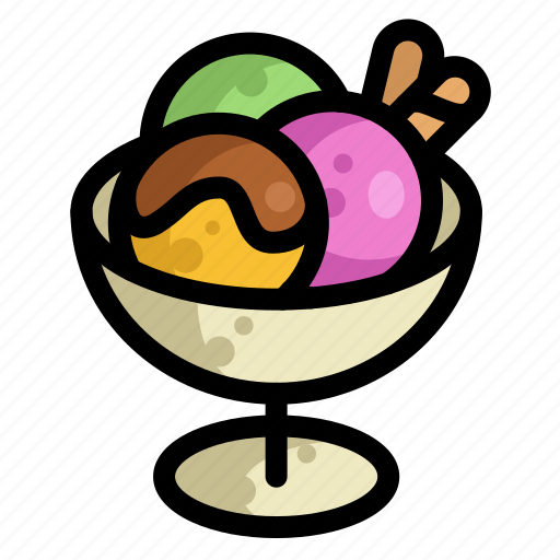 fast, food, ice cream, menu, restaurant icon