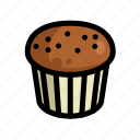 cake, cupcake, fast, food, menu, restaurant icon