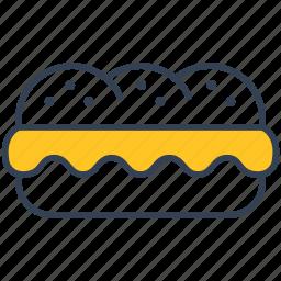 fast, food, sandwich icon