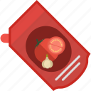 fast, food, garlic, ketchup, tomato icon