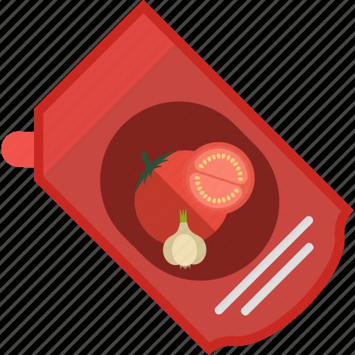 fast, food, garlic, ketchup, tomato icon
