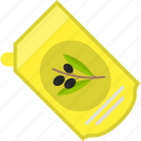 fast, food, mayonnaise, olives icon