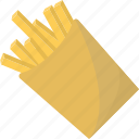 fast, food, french, fries, potatoes icon