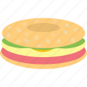 cheese, fast, food, sandwich icon