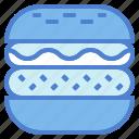 burger, fast, food, hamburger, junk, sandwich icon