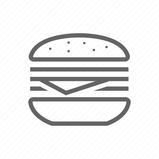 breakfast, eastern, fastfood, hamburger, lunch, meal icon