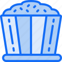fast food, movies, popcorn, sweet, treats icon