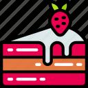 cake, dessert, fast food, sweet, treats icon