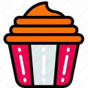 dessert, fast food, muffin, sweet, treats icon