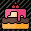 food, meal, restaurant, junkfood, dessert, cake