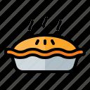 food, meal, restaurant, junkfood, dessert, pie