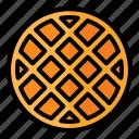 food, meal, restaurant, junkfood, dessert, waffle