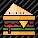 food, meal, restaurant, junkfood, sandwich