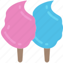 candy, cotton candy, fast food, floss, sweet, treats icon